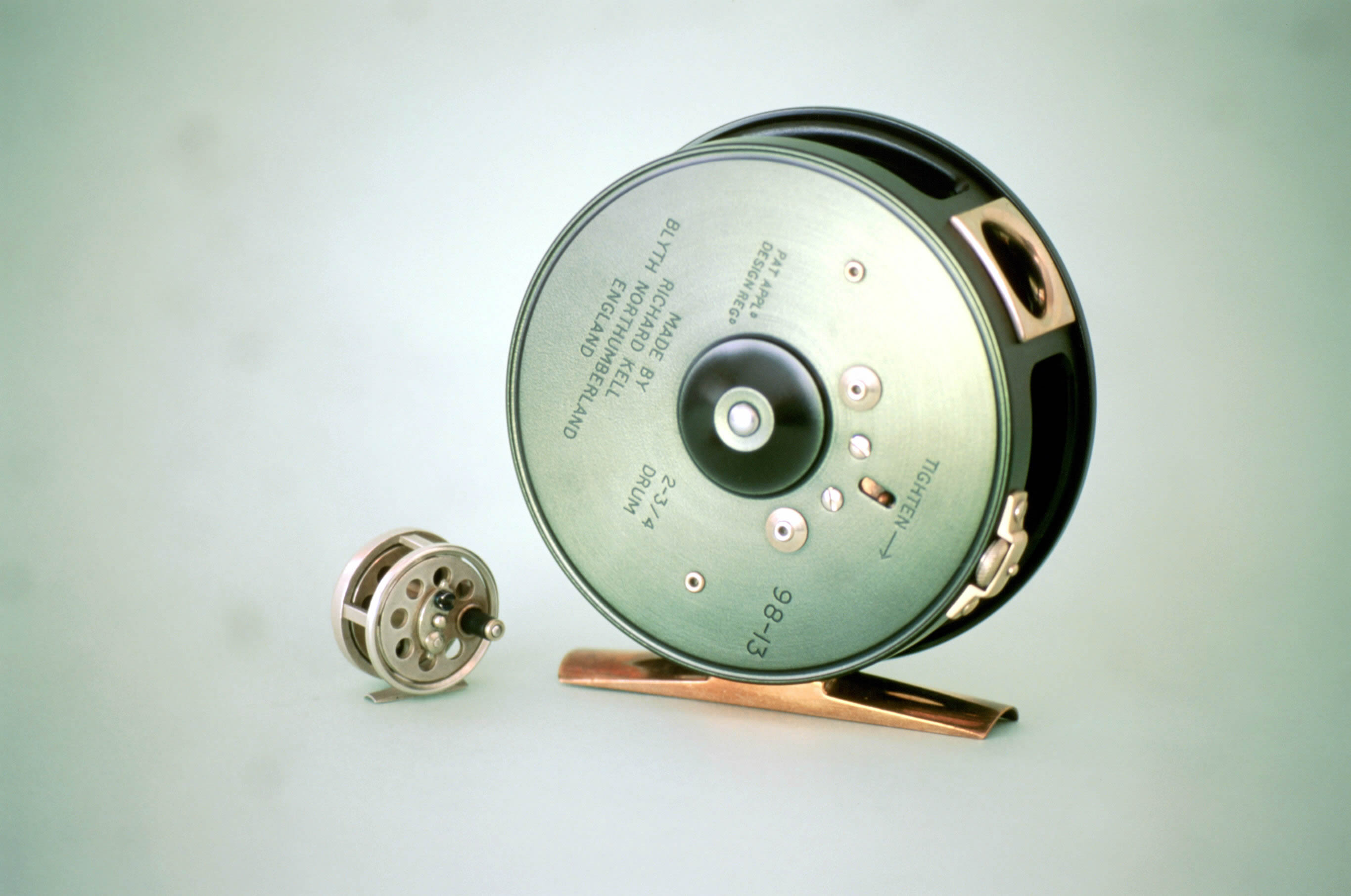 Woodworking tools by richard kell for Fly fishing reels for sale
