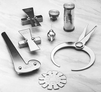 A selection of handtools